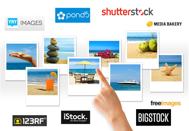 Cheap Stock Photos Blogger Website